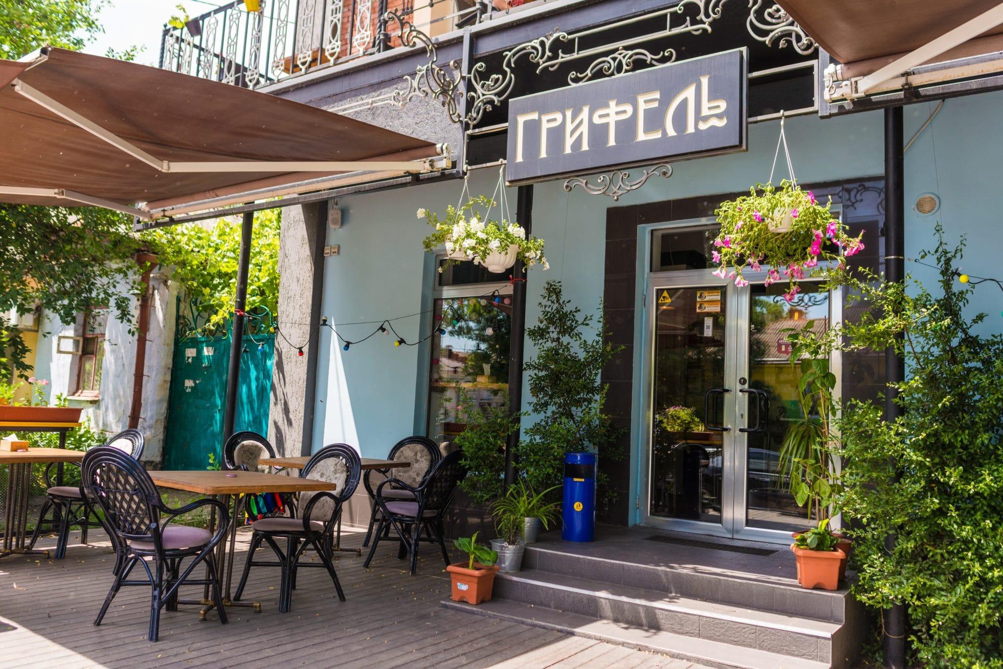 Обновление интерьера ресторана Грифель
